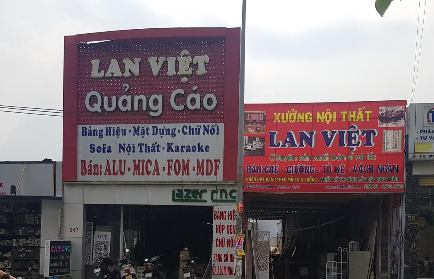 Vách ngăn cao cấp Lan Việt VNCC03