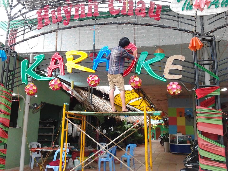 Thi công karaoke víp tại Sài Gòn