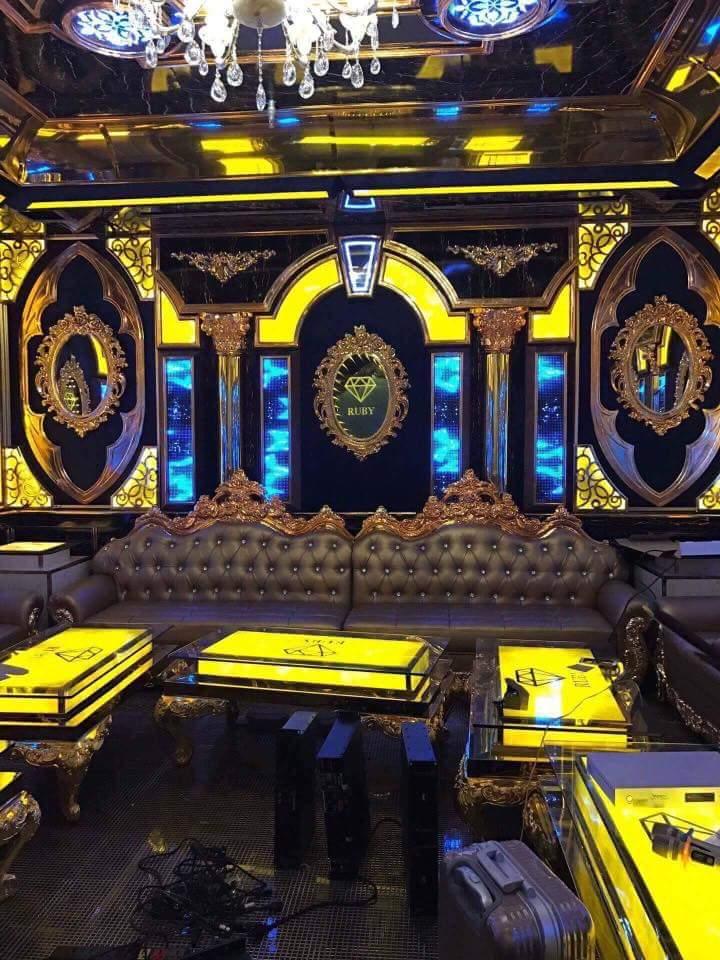 Phòng Karaoke đẹp thu hút khách