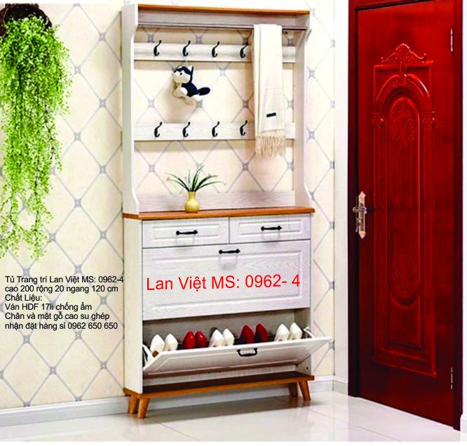 Tủ Trang trí Lan Việt MS: 0962-4