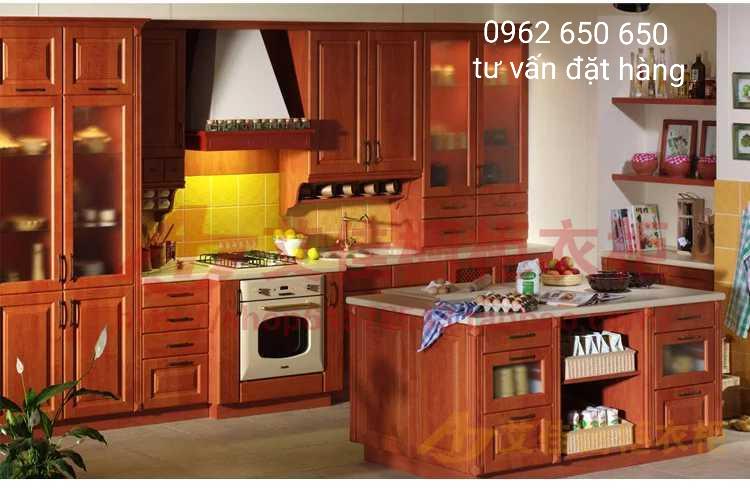 Thi công tủ bếp tại gò vấp uy tín