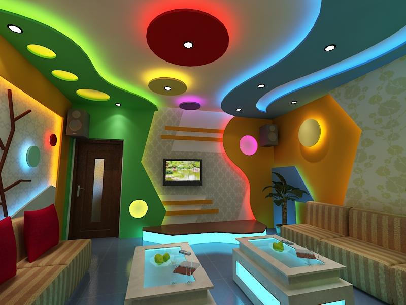 thiết kế phòng karaoke đẹp 2017