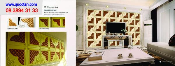 Phòng ngủ trang trí bằng tấm ốp 3d