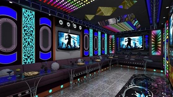 Mẫu phòng karaoke led hiện đại