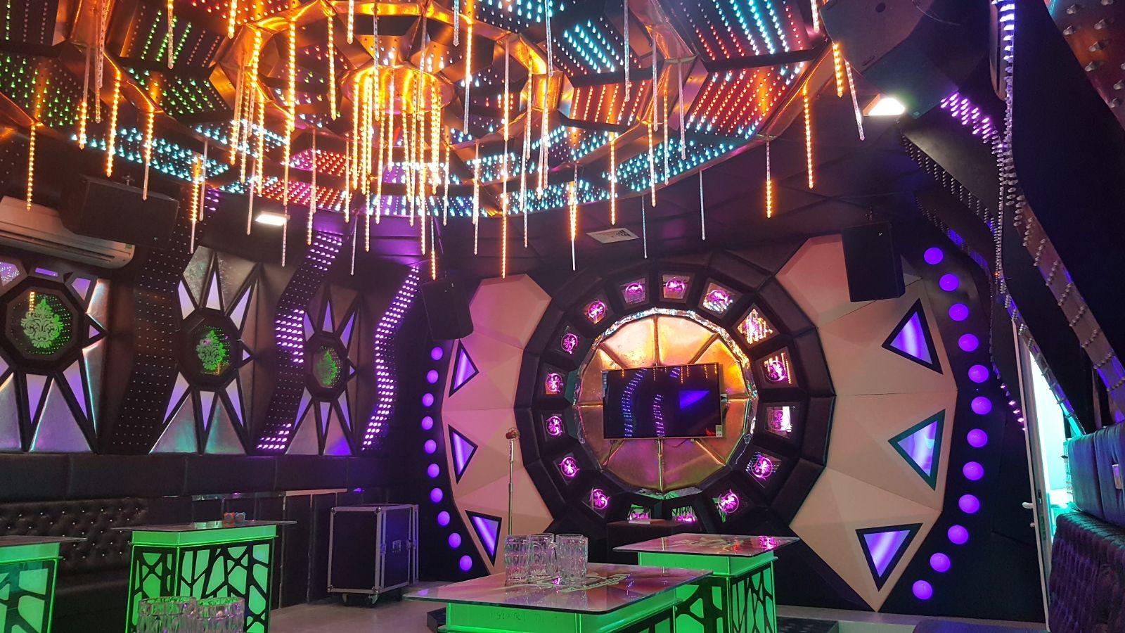 mẫu phòng karaoke đẹp nhất 2017