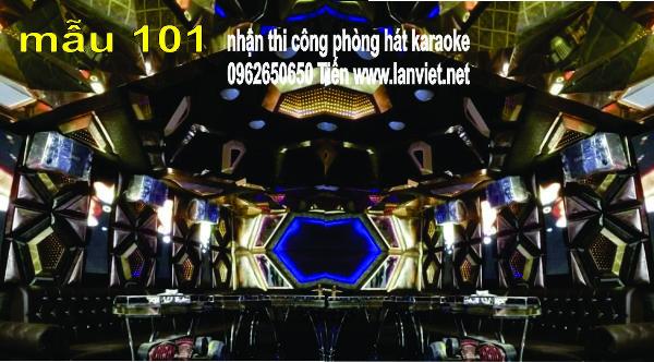 Những mẫu phòng karaoke tại hà nội