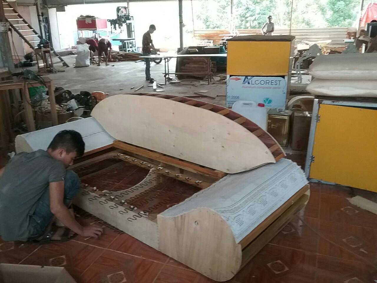 xưởng thi công nội thất sofa tại gò vấp
