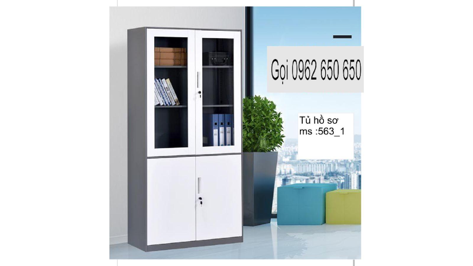 Tủ gỗ tài liệu